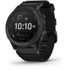 Garmin Tactix Delta Solar GPS Smartwatch, black